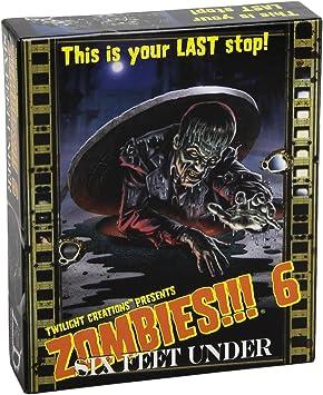 Twilight Creations - Zombies! 6 Six Feet Under Juego de Mesa, de expansión para los Zombis!: aa.vv.: Amazon.es: Juguetes y juegos