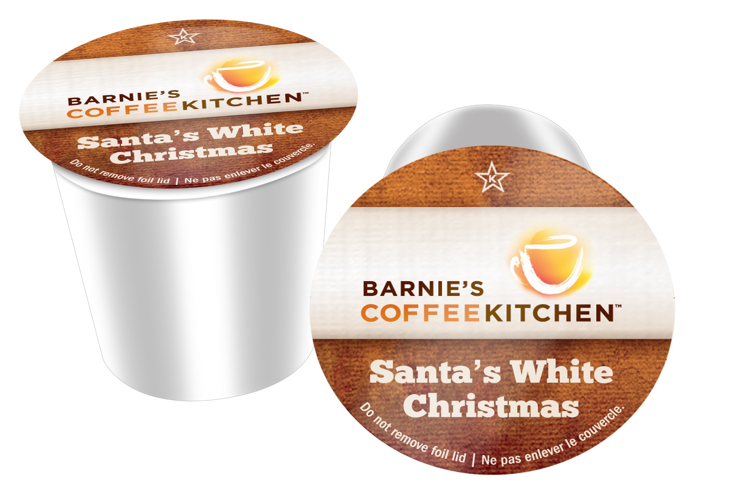 Barnie's Coffee Kitchen, Santa's White Chistmas, K-cups for Keurig Brewers (96 Ct.)