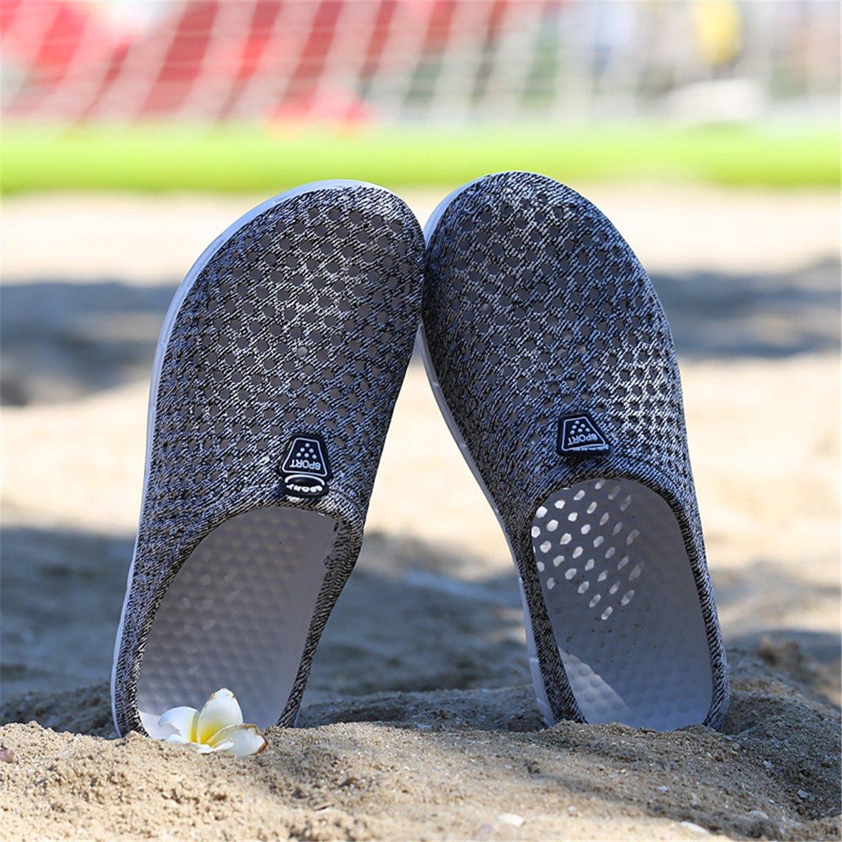 Ginjang Women's Garden Clogs Shoes Slip-on Slippers Sandals(38/Gray) by Ginjang (Image #5)