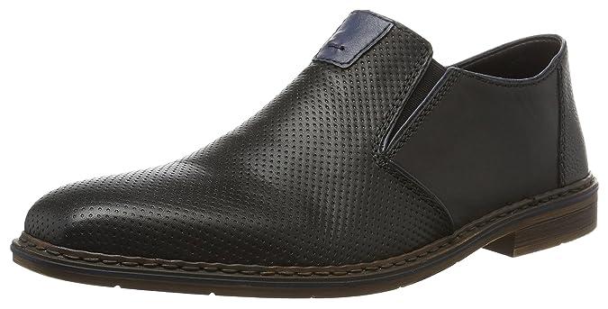 Mens B1766 Ankle Boots, Black, 7.5 UK Rieker