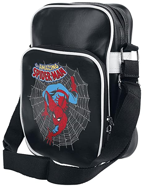 2a99256f ABYstyle - Marvel Borsa a Tracolla - Spider-Man Vintage per Adulti, S,