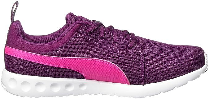 Puma Carsonmeshwf6, Chaussures d'Athlétisme Femme, Violet (Purple/Pink 02), 40.5 EU