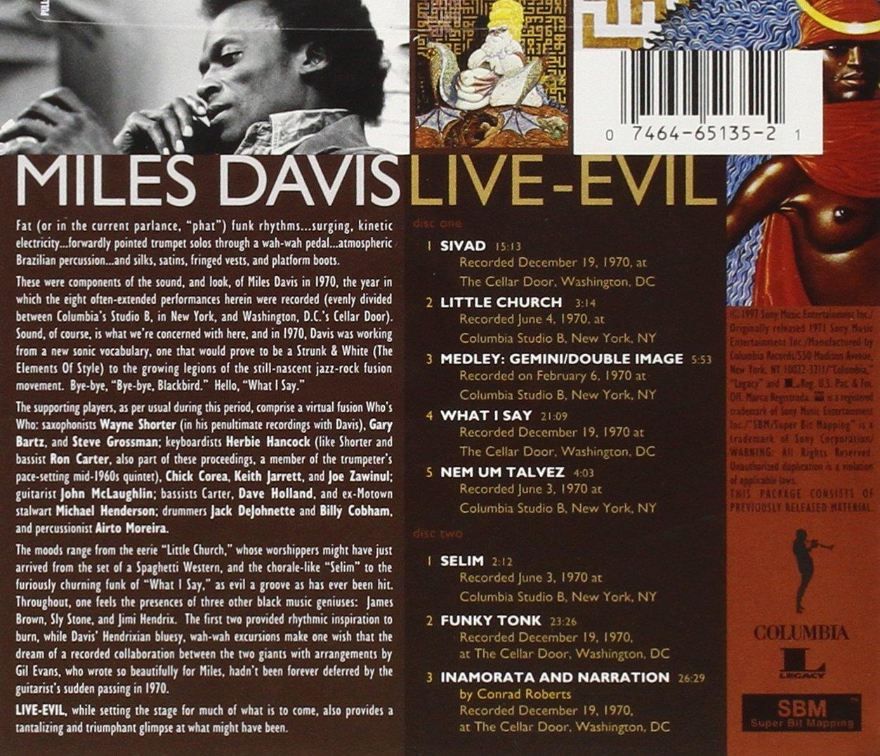 & Miles Davis - Live - Evil - Amazon.com Music