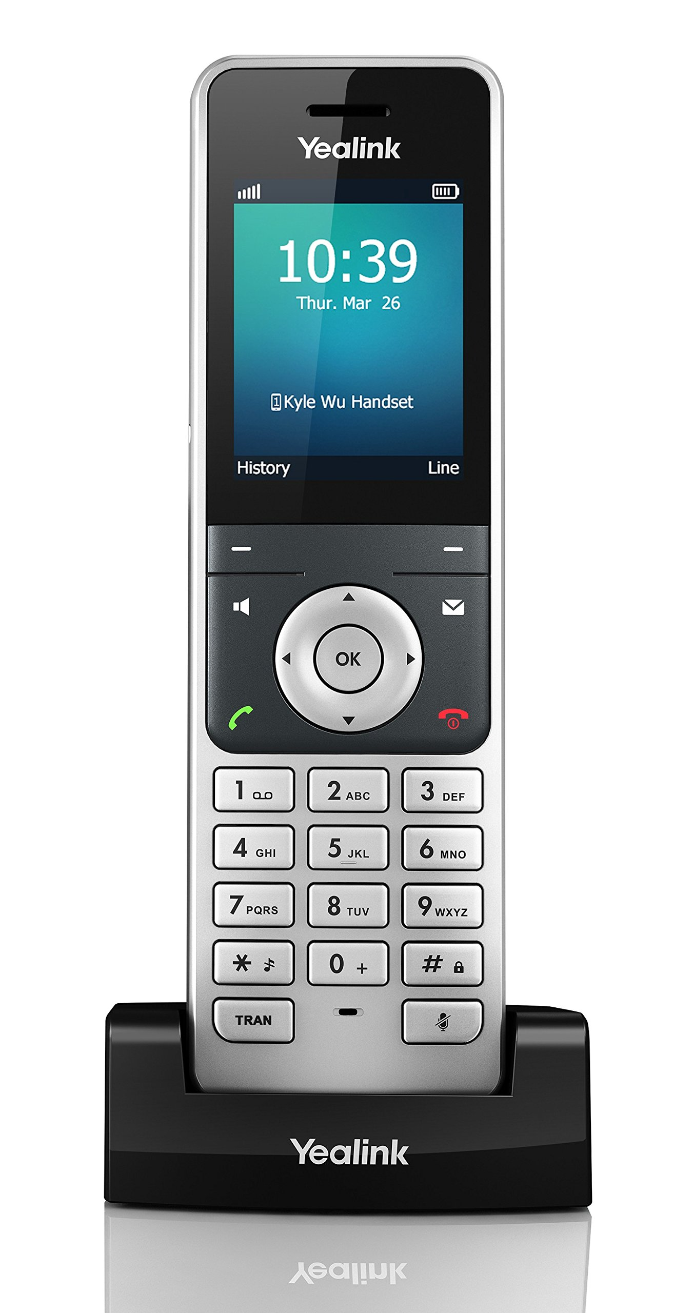 Yealink YEA-W56H HD DECT Expansion Handset for Cordless VoIP Phone and Device by Yealink