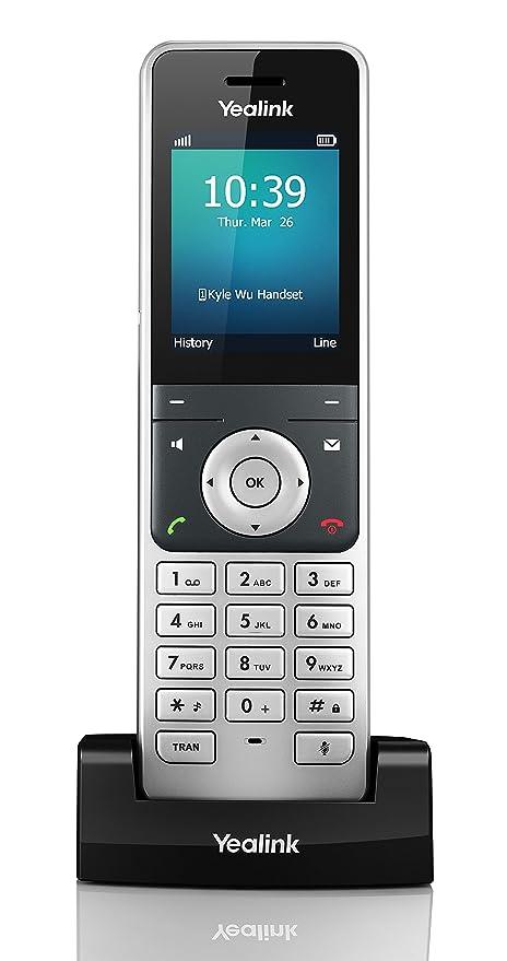 1 opinioni per Yealink W56H Telefono VoIP, Nero
