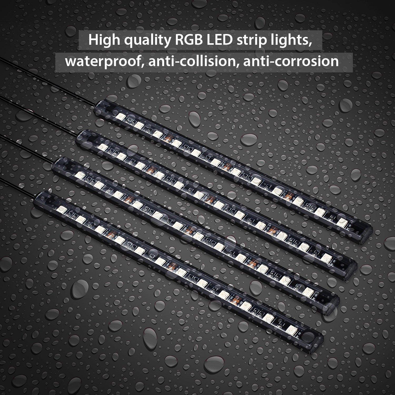 Luces led impermeables y resistentes