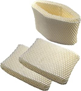 HQRP Filter 3-Pack Compatible with Honeywell HC-888 HC-888N HCM-890 Humidifier Plus Coaster