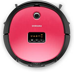 Samsung VR10ATBATRG Sin bolsa 0.6L Negro, Rojo aspiradora robotizada - Aspiradoras robotizadas (Sin bolsa, Negro, Rojo, Alrededor, 0,6 L, 70 dB, 300 mm/s): Amazon.es: Hogar