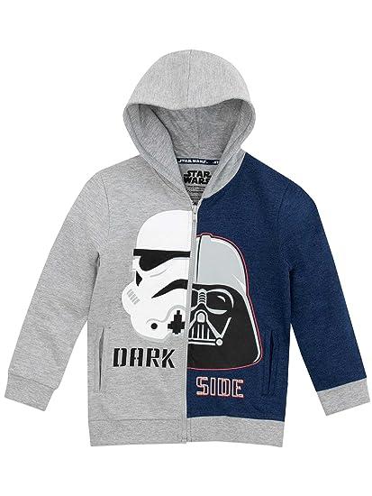 57386d8b8a60a Star Wars - Sweat-Shirt à Capuche Garçon: Amazon.fr: Vêtements et ...
