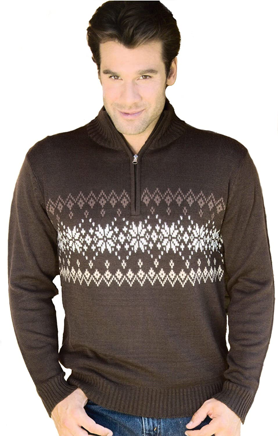 Ronley Men's Jumper Brown Brown