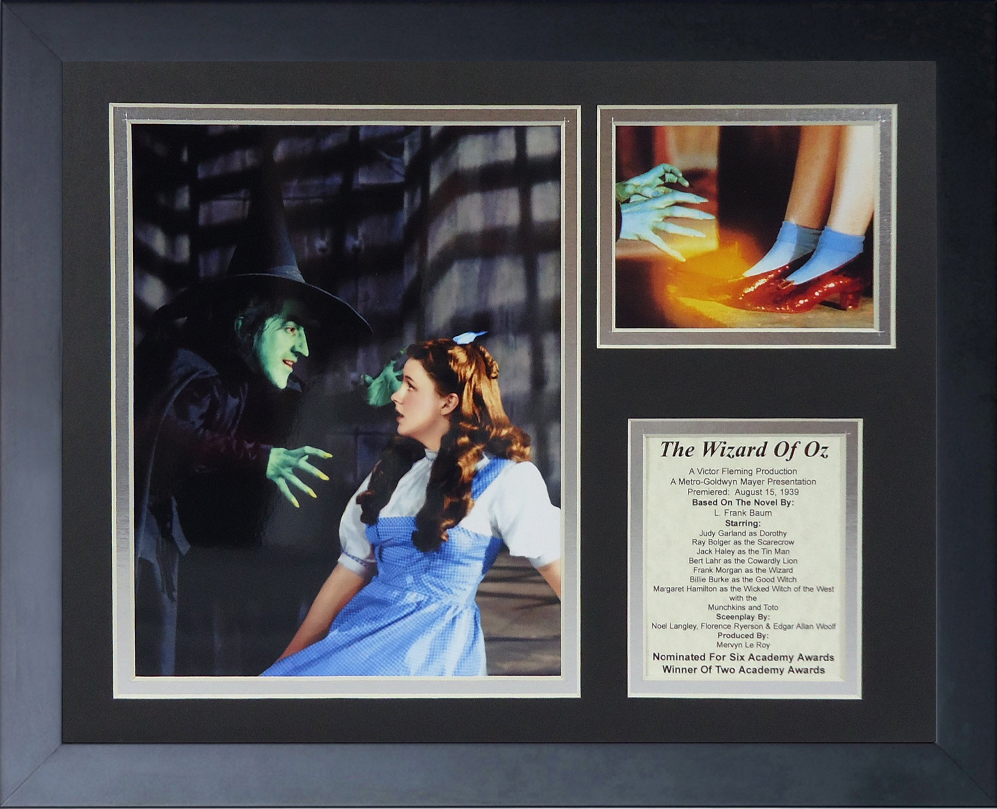 Legends Never Die Wizard of Oz Witch Framed Photo Collage, 11 by 14-Inch