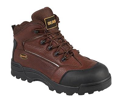 Paroh Beaver 610s3 Composite Midcut Hiker, Chaussures de travail et de sécurité pour homme homme - Noir - noir, 9 UK