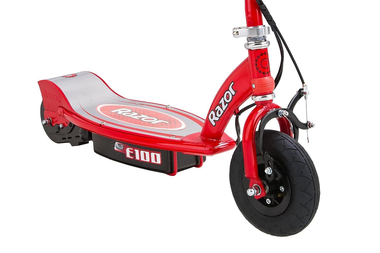 Razor E100 - Patinete eléctricos (infantil), color rojo ...