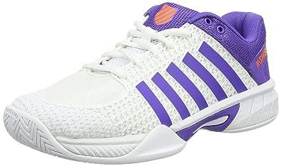 Womens Express Light Tennis Shoes, White/Purple K-Swiss