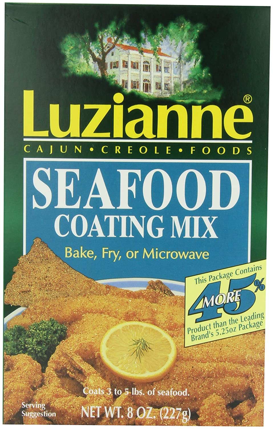 Amazon.com : Luzianne Seafood Coating Mix, 8-Ounce Boxes (Pack of 6 ...