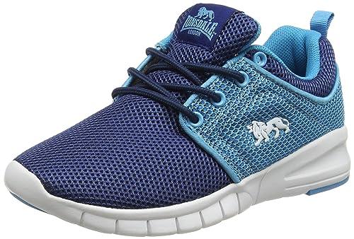 Lonsdale LGA475 - Zapatillas de Running de Tela Chica, Color Azul ...