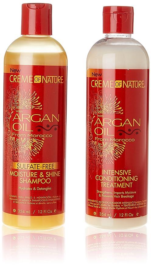 Aceite de Argán de Marruecos Tratamiento Intensivo De acondicionado y libre de sulfato Champú * *