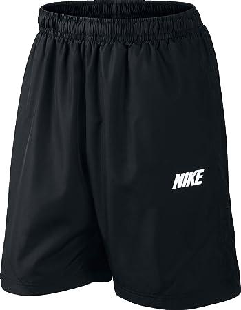 Nike Season Men s Shorts Black Black Black White Size S  Amazon.co ... 87a8430380f