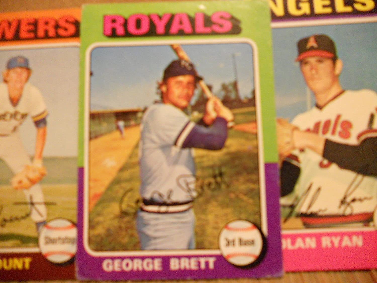 1975 Topps Baseball Complete Set 660 Cards VG Condition