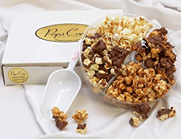 Amazon.com : Pops Corn! Holiday Gift Basket, Assorted Popcorn ...