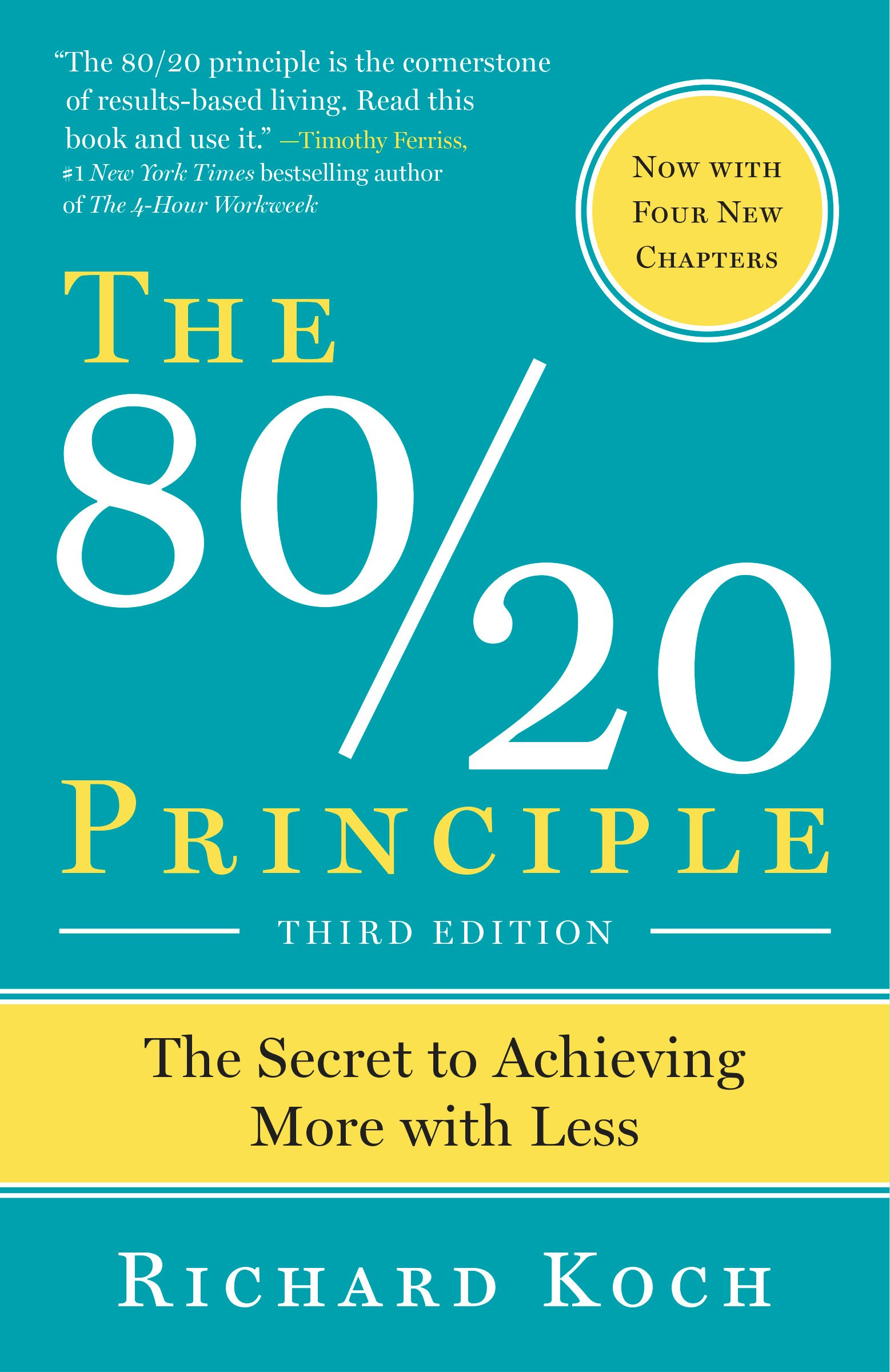 The 8020 principle the secret to achieving more with less richard the 8020 principle the secret to achieving more with less richard koch 9780385491747 amazon books fandeluxe