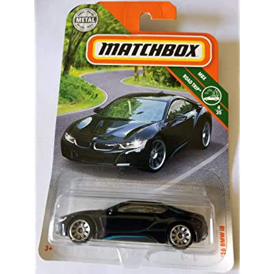 Matchbox 2020 MBX Road Trip 4/35 - '16 i8 (Black): Toys & Games