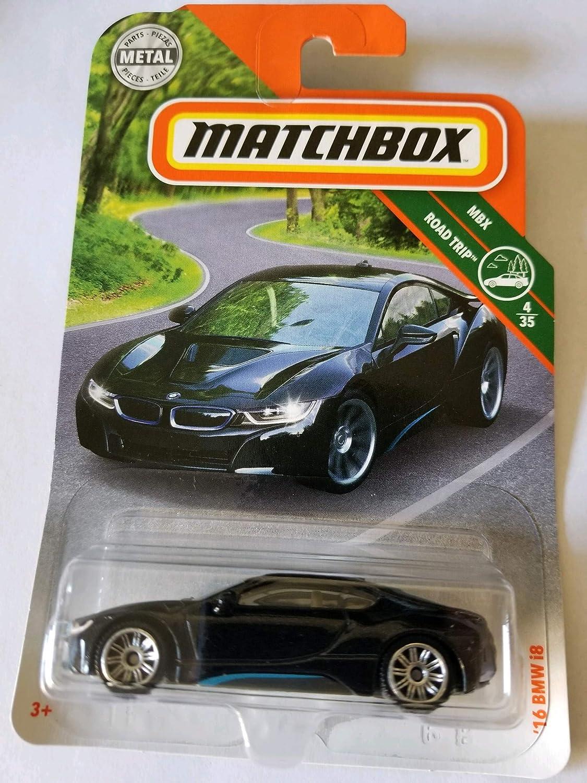 Amazon.com: Matchbox 2018 MBX Road Trip 4/35 - 16 i8 (Black): Toys & Games