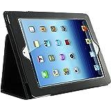 Kolay Black iPad 2 Leather Case & Screen Protector Kit for New Apple iPad 2 (2nd Generation)
