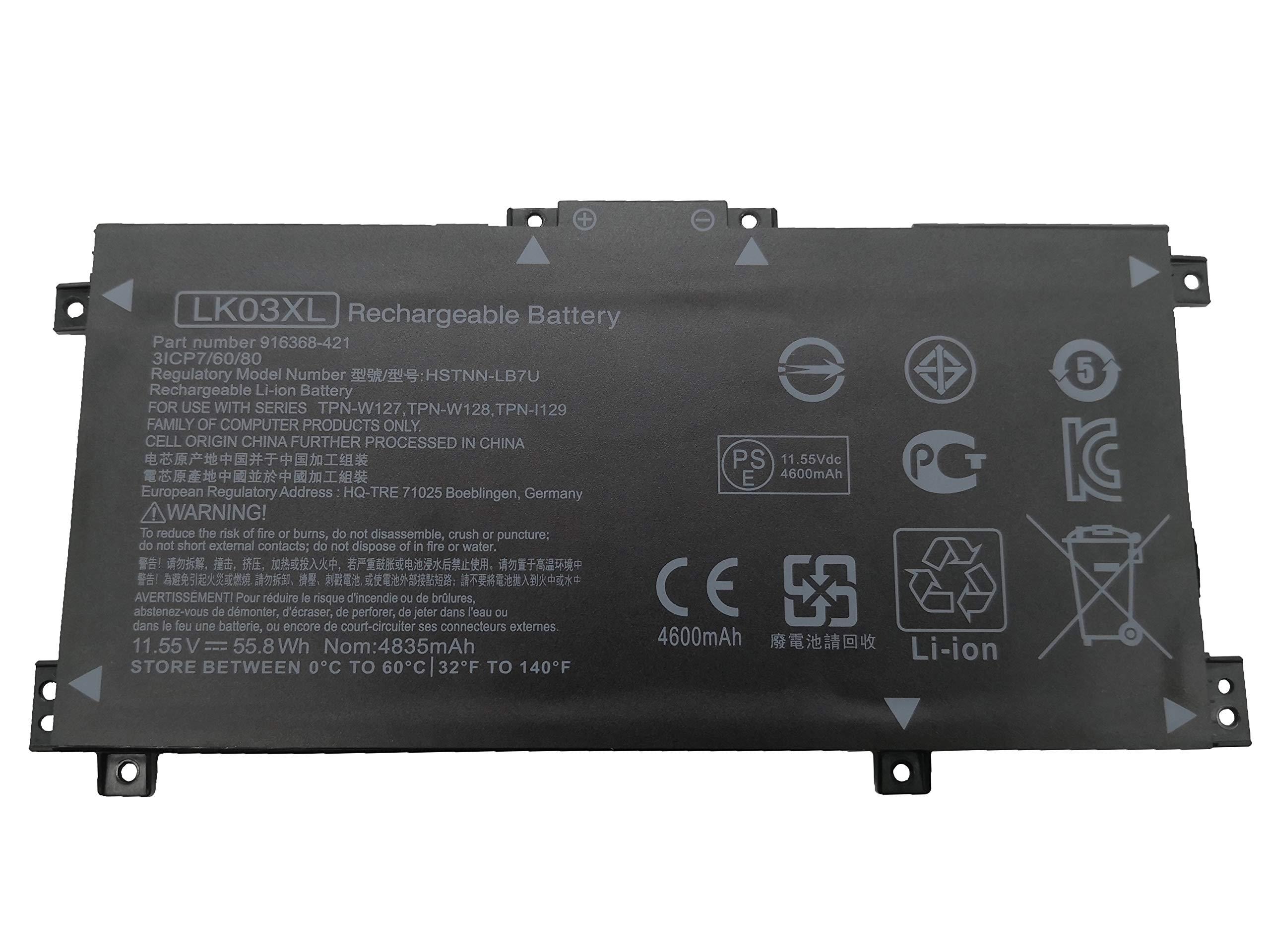 Bateria Tinkerpal Lk03xl Hp Envy 17m Series Tpn-w127 Tpn-w12