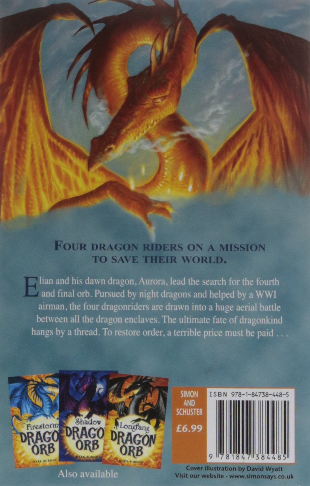 Dragon orb aurora mark robson 9781847384485 amazon books fandeluxe Ebook collections