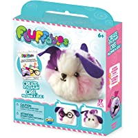 """The Orb Factory Fluffables Nugget Arts & Crafts, Purple/Pink/White, 5.75"""" x 2"""" x 6"""""""