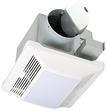 Ryteck Ultra Quiet Ventilation Fan And Light Combination BPLT110 0.7 Bathroom  Fan 110 CFM Ceiling
