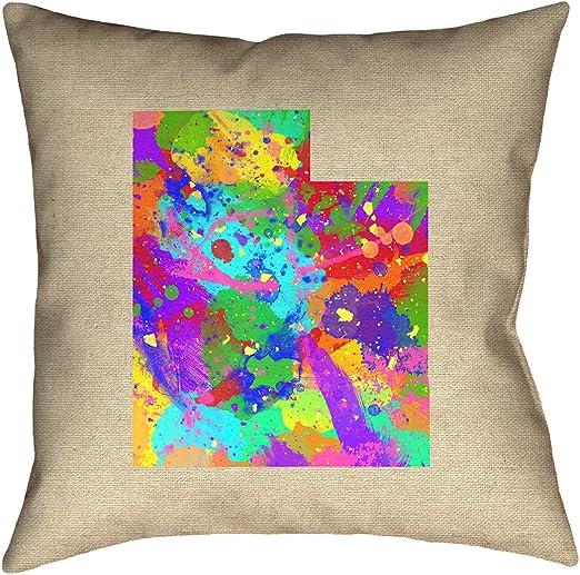 ArtVerse Katelyn Smith 16 x 16 Spun Polyester Montana Canvas Pillow