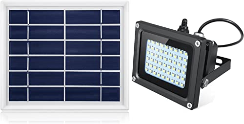 Oasity Solar LED Light 500 Lumens IP65 Waterproofness Rating Perfect Solar Spotlight for Patio, Gazebo, Or Backyard