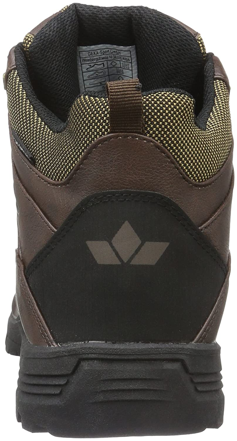 uk availability 61217 01d63 Lico Men's Miles Ankle Boots, Brown (Braun), 4 UK: Amazon.co ...