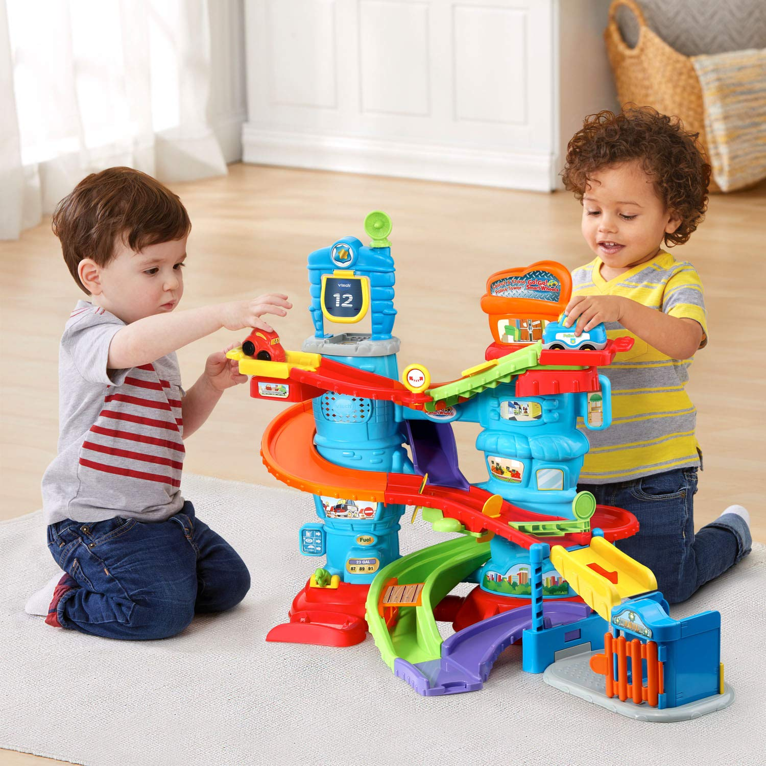 VTech Go! Go! Smart Wheels Launch and Chase Police Tower by VTech (Image #5)