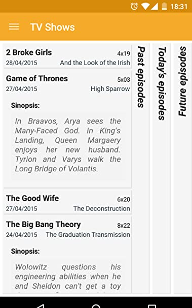 Amazon com: TV Shows: Appstore for Android