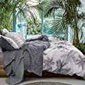 3-Pieces Natural Cotton 1 Duvet Cover 2 Duvet Cover Set