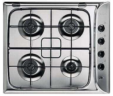 a8ce7dc1863649 Indesit PIM 640 AS (IX) Plaque à cuisson au gaz  Amazon.fr  Gros ...