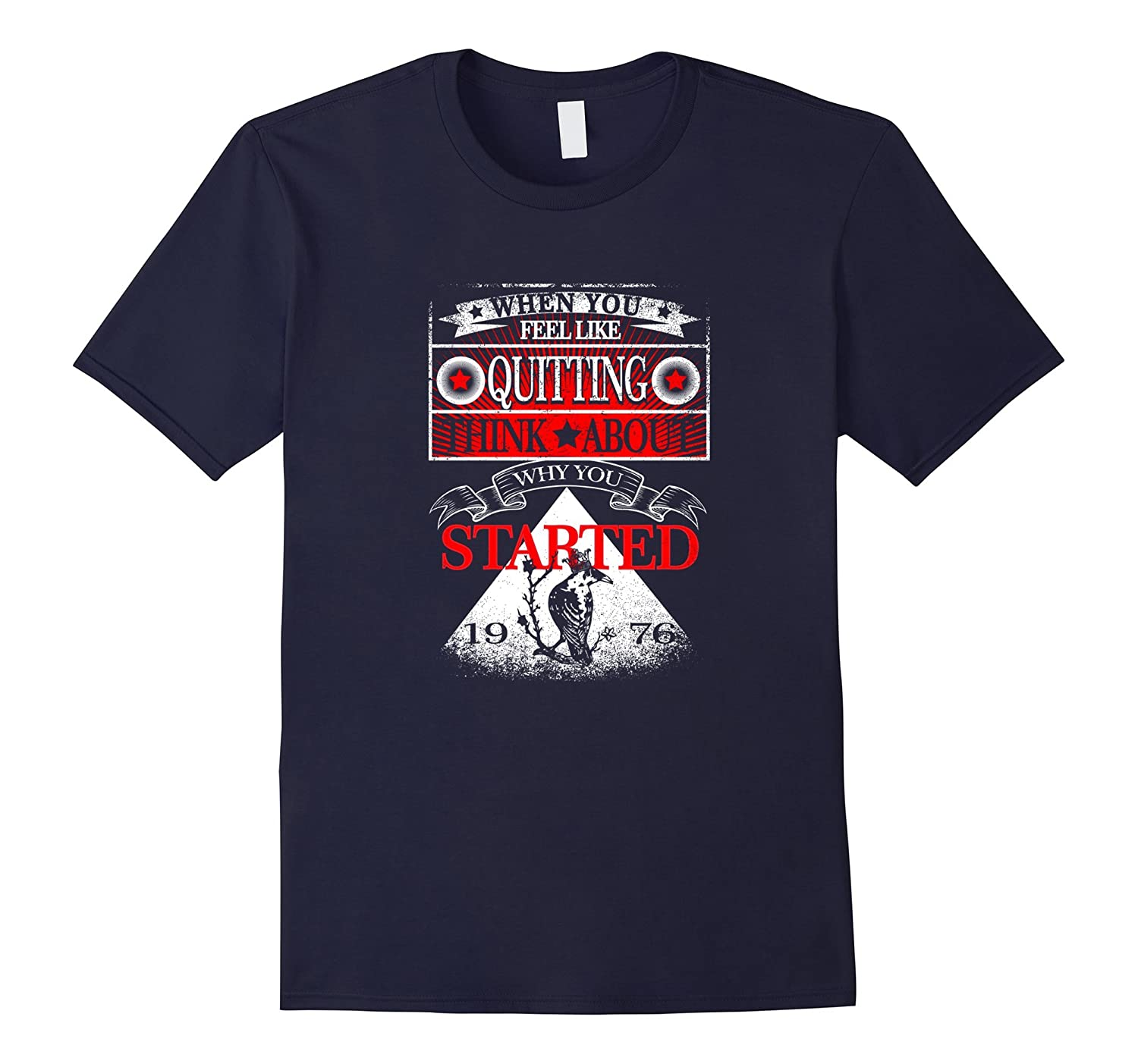 Dont Quit Shirt When You Think About Quitting T Shirt-Vaci