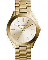 Michael Kors Women's 42mm Stainless Steel Slim Runway Bracelet Watch