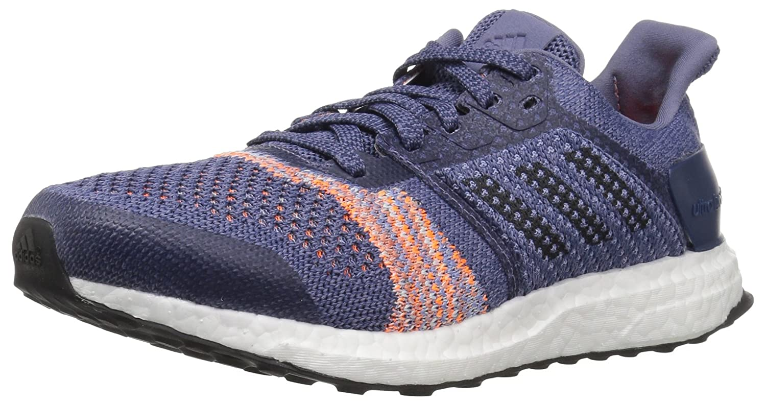 adidas Originals Women's Ultraboost St B077BNHRX5 7 B(M) US|Raw Indigo/Noble Ink/Hi-res Orange