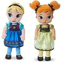 Disney Animators Collection Elsa and Anna - Muñeca de Peluche