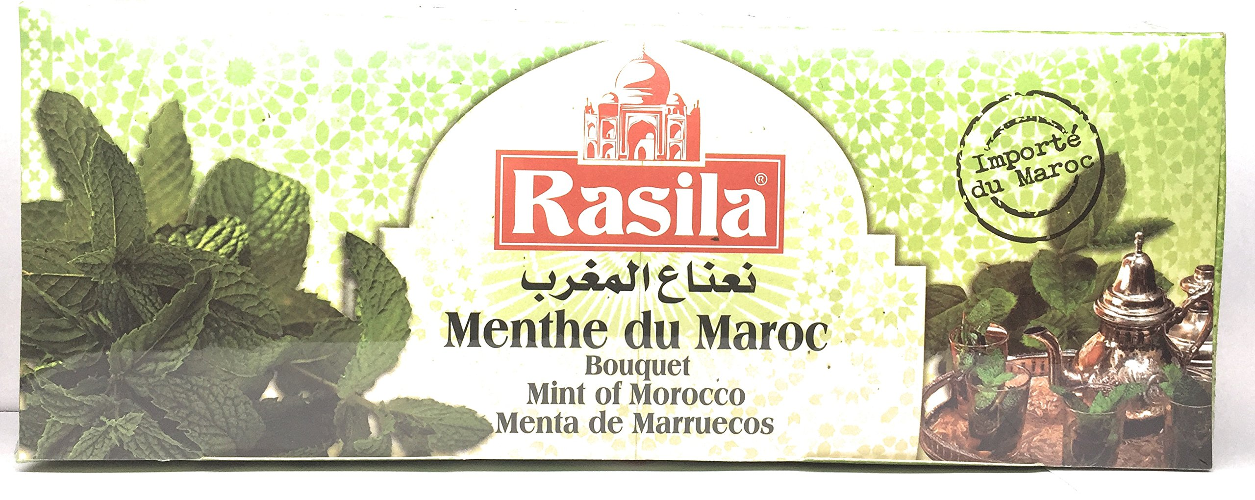 Rasila Moroccan Dried Mint Bouquet, The Whole Bouquet Dried From The Original Format. Culinary Herb, Natural. 1.41 Ounce- 40 Gram.
