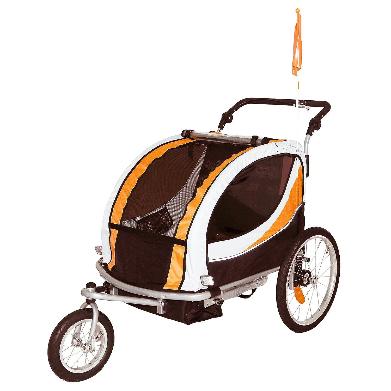 Tiggo Remolque de Bici para Niños Remolque de Bici Remolque de bicileta 802-D03 JBT03N Naranja