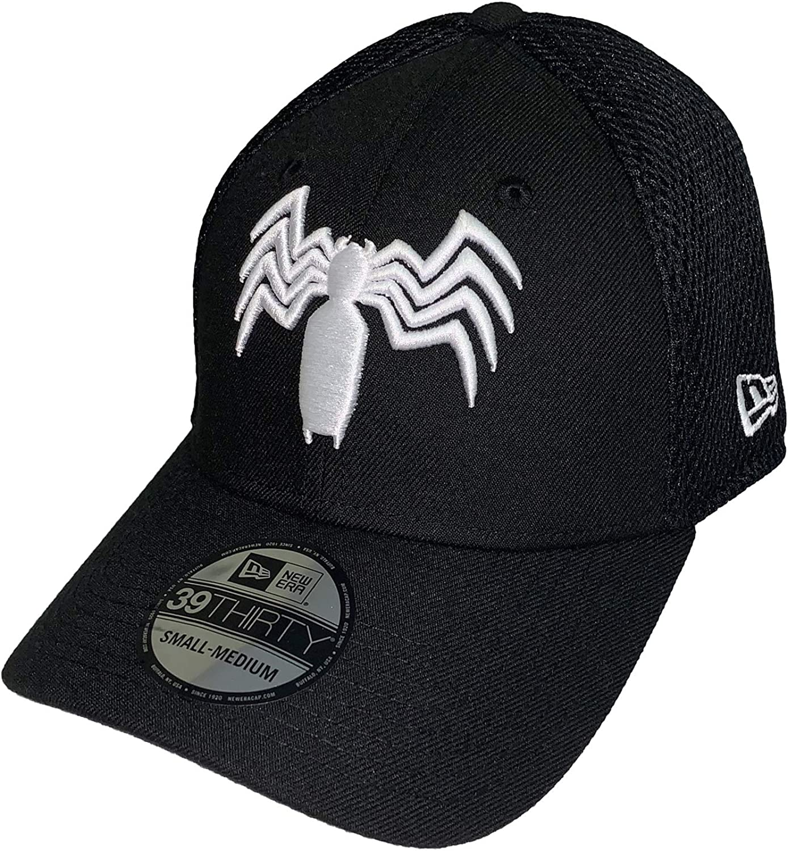 Small//Medium Marvel Neo Venom Symbol New Era 39Thirty Fitted Hat Cap