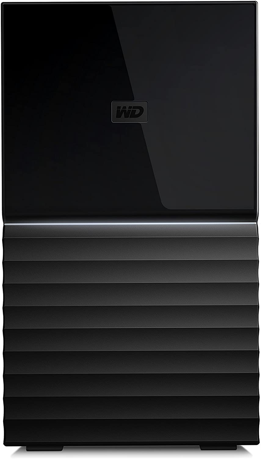 WD 4TB My Book Duo Desktop RAID External Hard Drive - USB 3.1 - WDBFBE0040JBK-NESN