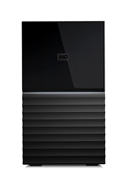 WD 4TB My Book Duo Desktop RAID External Hard Drive - USB 3 1 -  WDBFBE0040JBK-NESN