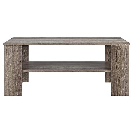 en.casa]® Tavolino da Salotto Rovere Legno Antico 100x60cm Tavolo ...