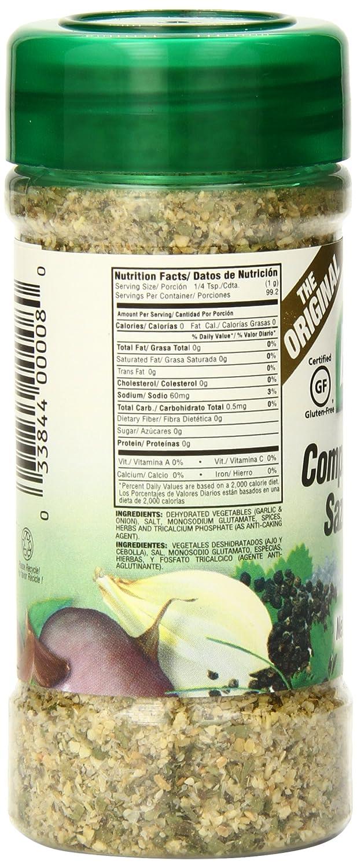 Amazon.com : Badia Complete Seasoning, 3.5 Ounce (Pack of 12) : Meat Seasoningss : Grocery & Gourmet Food